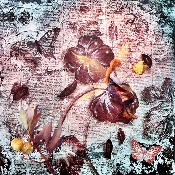 Butterfly Fairy Magic Digital Art