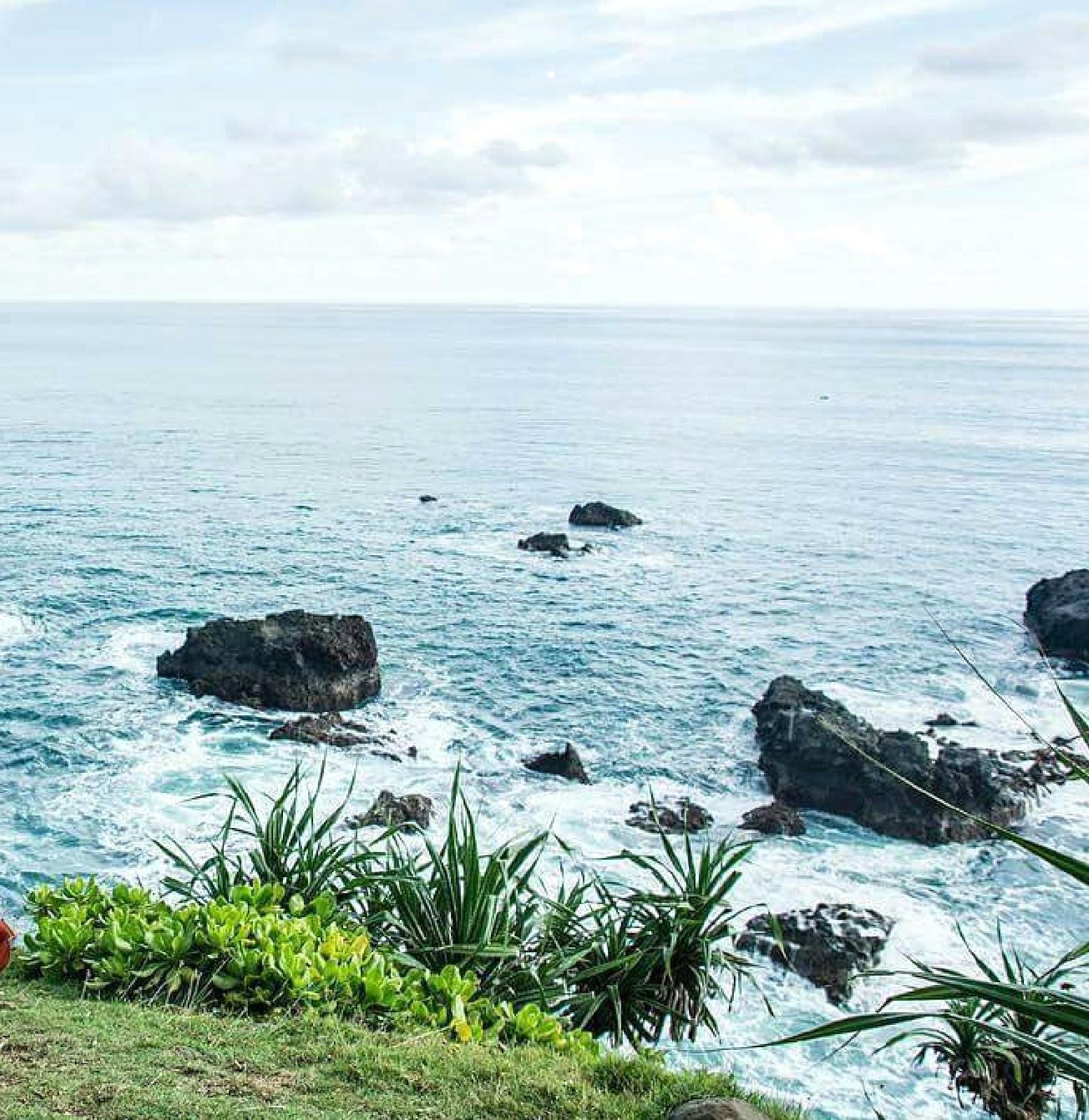 9 Gambar Pantai Sodong Bodas Garut, Rute + Lokasi dan Hotel Terdekat