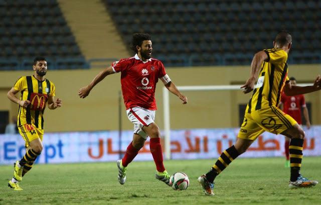 الساعة كام موعد مباراة الأهلي والمقاولون العرب اليوم