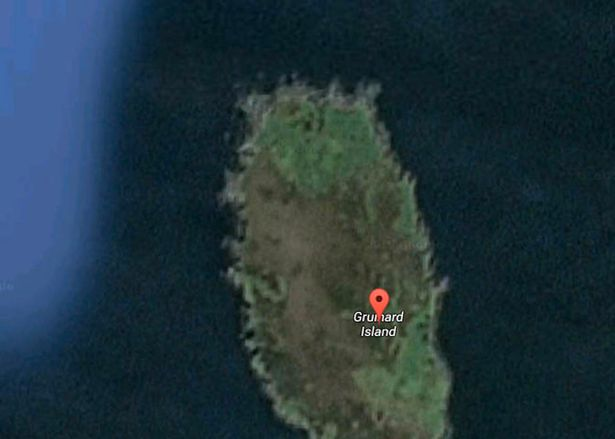 Close up: this is as close to Gruinard Island as you will get on Google Maps (Image: Google Maps)