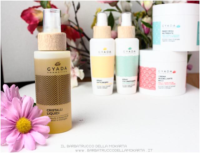 cristalli liquidi review   gyada cosmetics, vegan bio, capelli hair routine