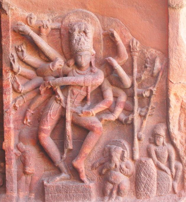 Dancing Natarajar (Shiva) - 81 dance moves - Badami Cave Temple, Karnataka