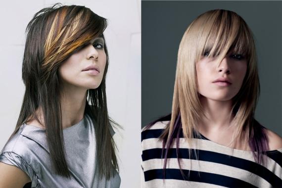 Doppio taglio di capelli femminile