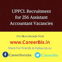 UPPCL Recruitment for 256 Assistant Accountant Vacancies