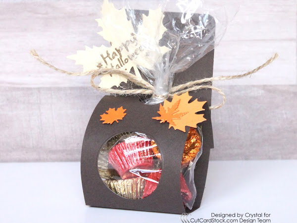 Halloween Treat Bag Holder!