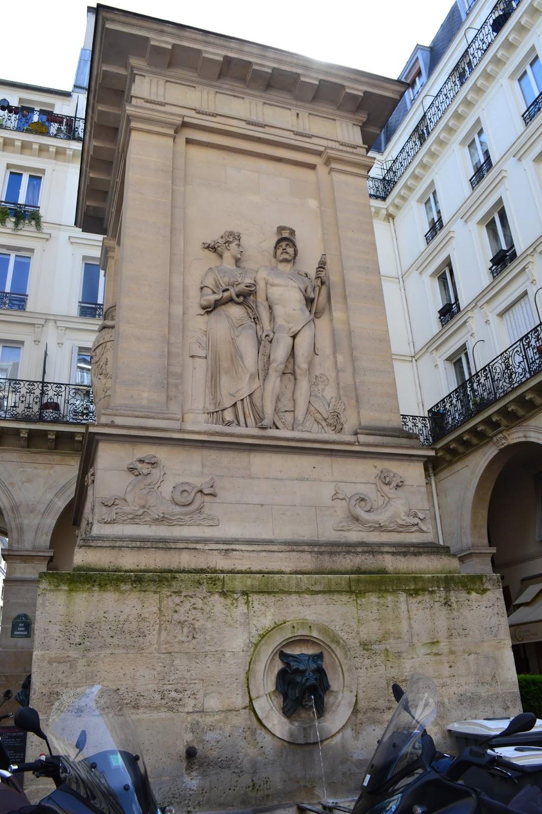 Paris on thème: Les fontaines du XIXe siècle sous Napoléon