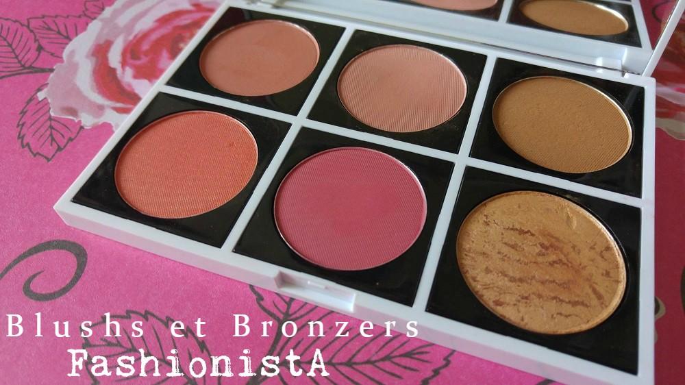 Blushs et Bronzers FashionistA