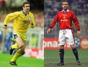 Eric Cantona (Leeds United ke Manchester United)