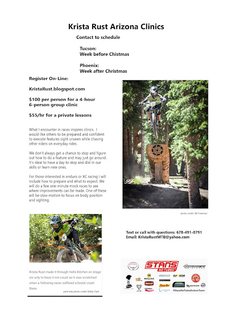December Arizona Mountain Bike Clinics