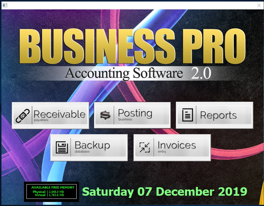 BUSINESSPRO ACCOUNTING SOFTWARE