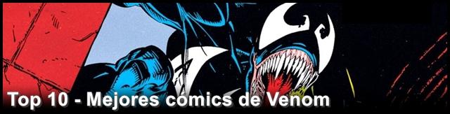 Top cómics de Venom