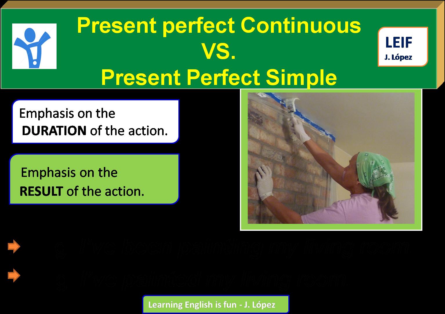 present perfect vs present perfect continuous pdf