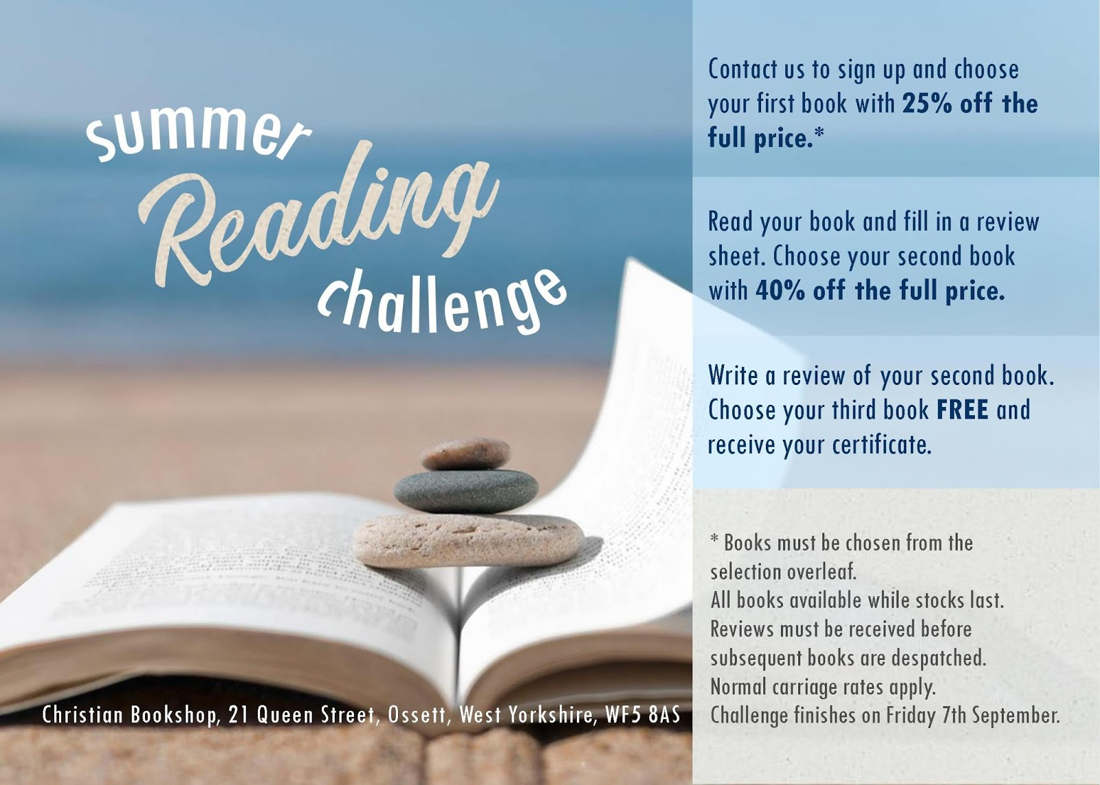 Talking Shop Summer Reading Challenge