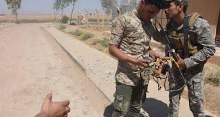 قوات الحشد الشعبي تصد تعرض فاشل لذيول داعش جنوب تكريت قرب مرقد السيد محمد ع