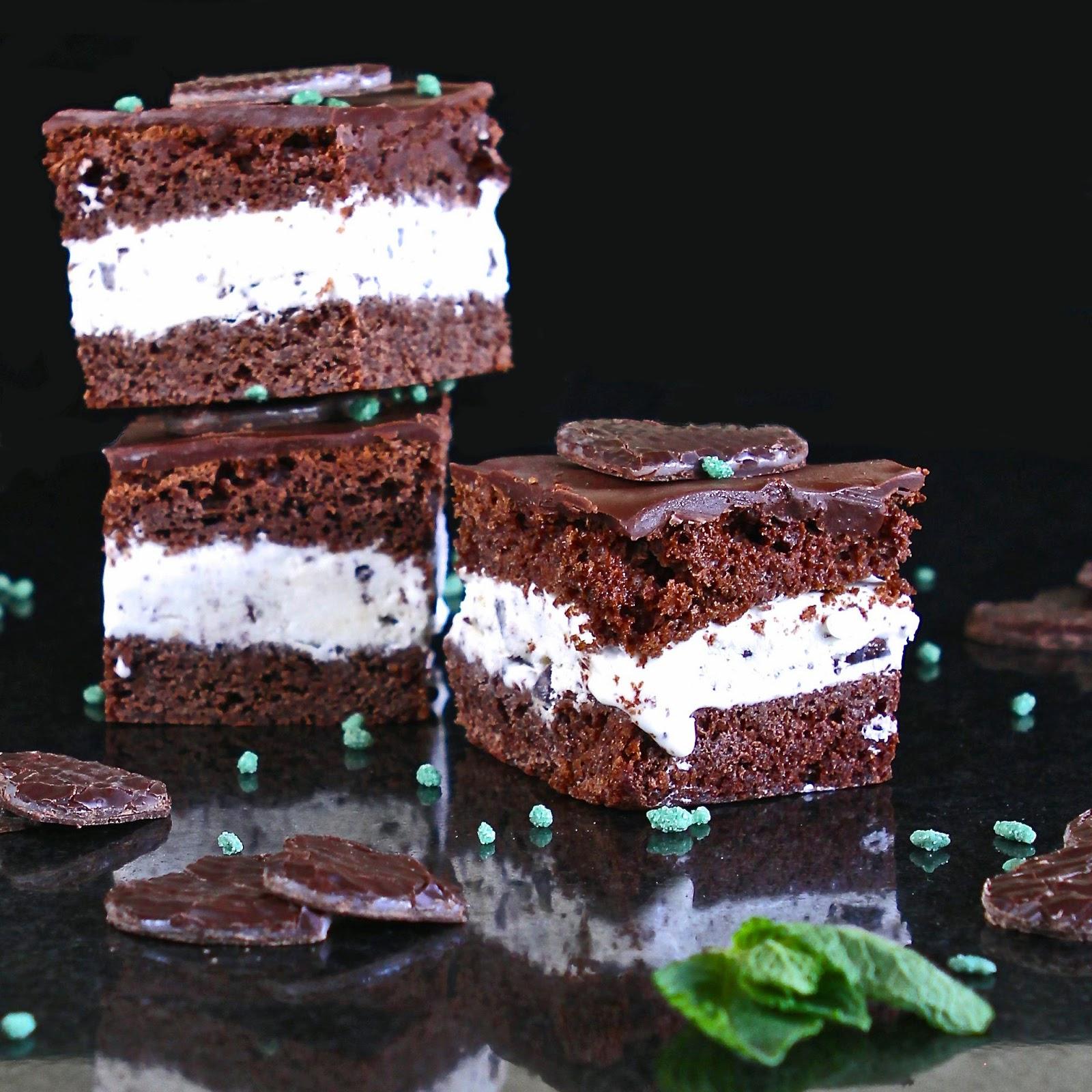 Mint Chocolate Sponge Cake