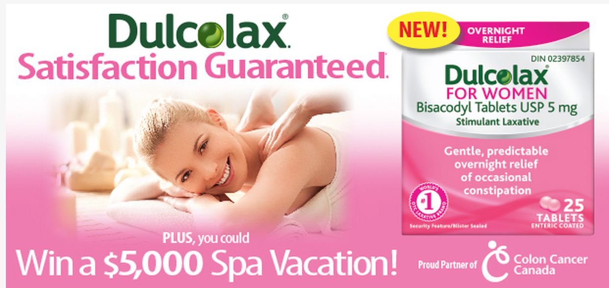 Ducolax for Women Offers $5000 Spa Vacation