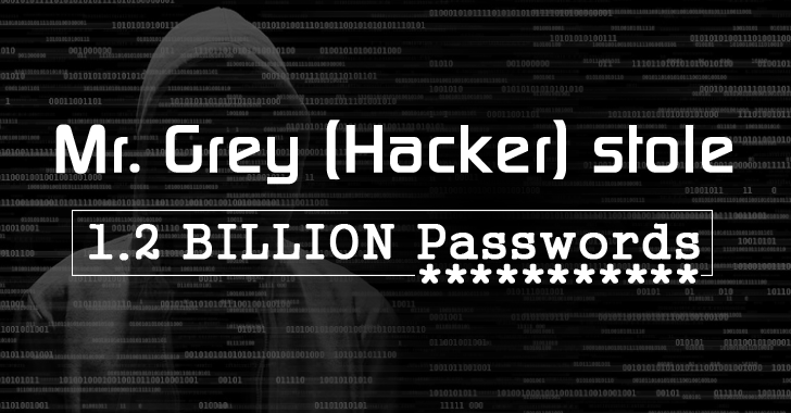 Mr. Grey Hacker (Wanted by FBI) Steals 1.2 BILLION Login Passwords