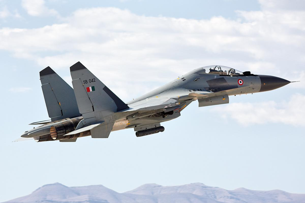 Su-30MKI Siap Jadi Top Gun di Alaska