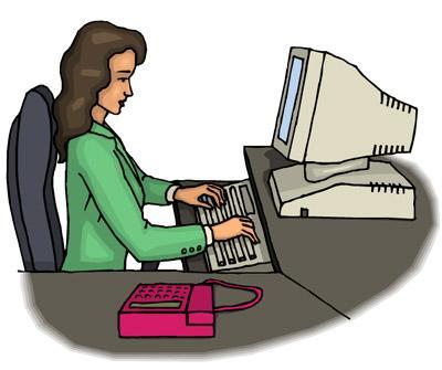 Gambar Animasi Orang Bekerja Di Kantor