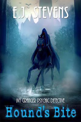 Hound's Bite (Ivy Granger #5) by E.J. Stevens urban fantasy paranormal