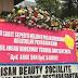 1.000 Karangan Bunga untuk Pasangan Ahok-Djarot Yang Menghiasi Balai Kota