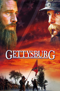 Gettysburg (1993), directed by Ronald F.Maxwell, starring Martin Sheen