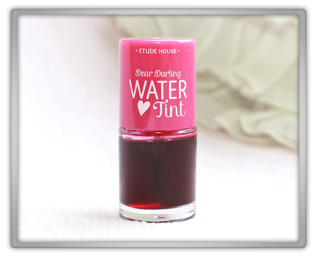 Etude House Dear Darling Water Tint 01 Strawberry Ade Haul Review kbeauty blogger blog beauty korean lip 에뛰드  하우스 디어 달링 워터 틴트