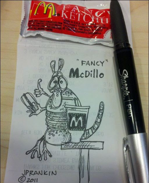 "JP RANKIN ""The Art Of THE CARTOON COWBOY"": McDillo"