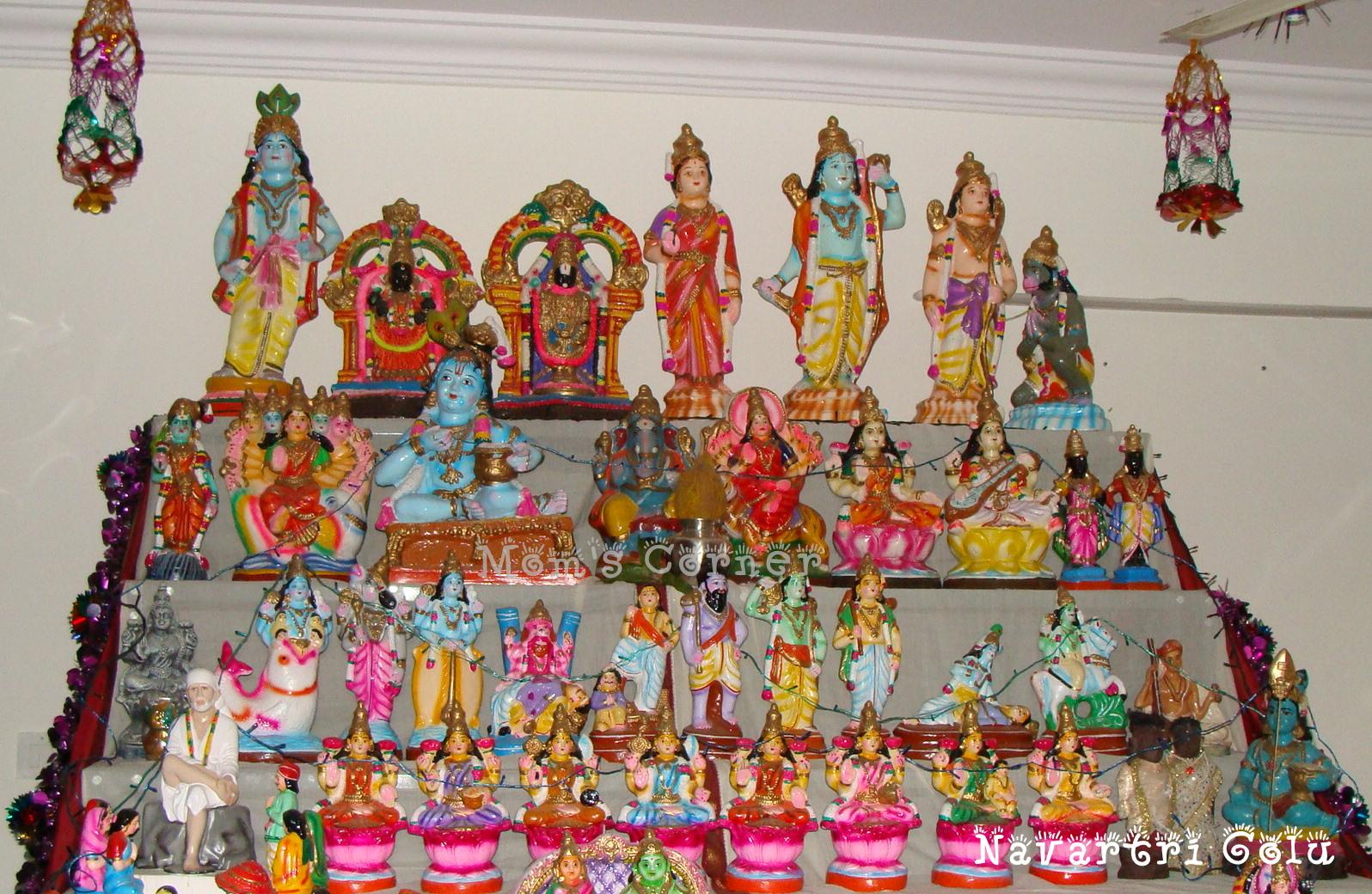 Lightings For New House Mom S Corner Navarathri And Golu