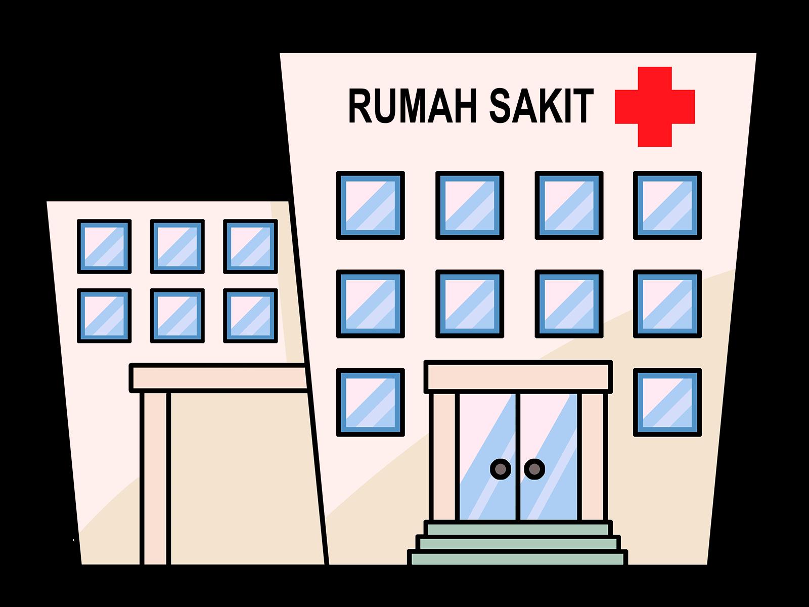 Mewarnai Gambar Rumah Sakit Untuk Anak Tk