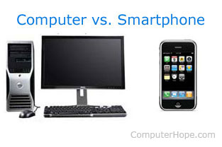 Komputer vs. Smartphone (HP)