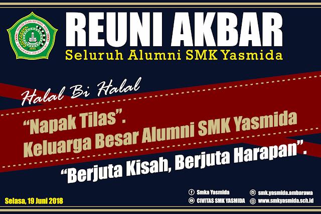 Design Banner Panggung Reuni Akbar Keren