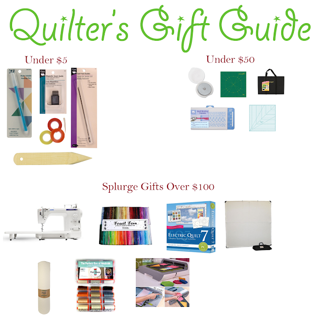 #Quilting Gift Guide 2015 @homeecmel