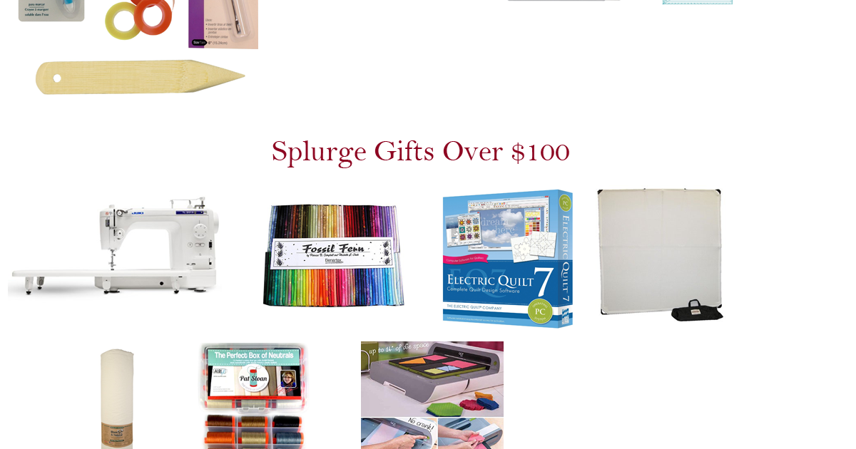Quilter S Gift Guide 2015 The Quilting Room With Mel