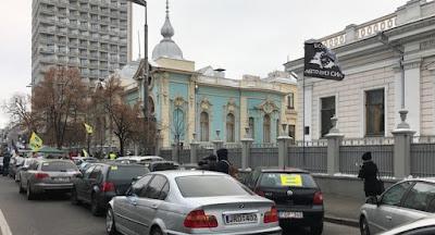 """Владельцы """"ероблях"""" провели массовые акции по всей Украине"""