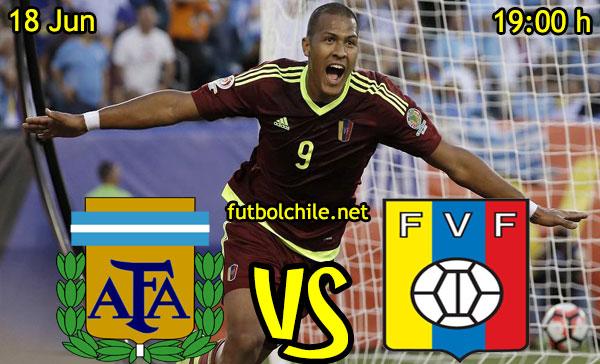 VER STREAM RESULTADO EN VIVO, ONLINE: Argentina vs Venezuela