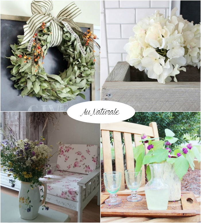 Beautiful natural decor featured on homework