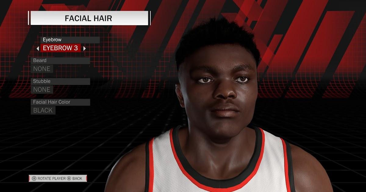 NBA 2K18 Zion Williamson Cyberface by Shuajota RELEASED