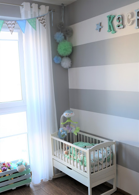 pastelowy pokój dziecięcy