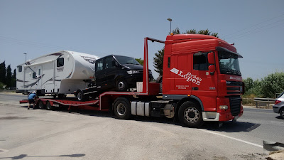 5th wheel caravan recovery and repair, Costa Blanca