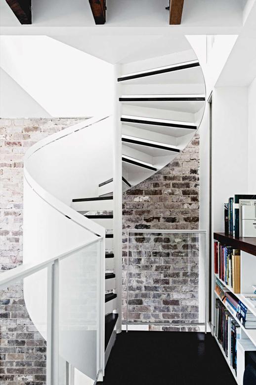 escaleras de caracol chicanddeco