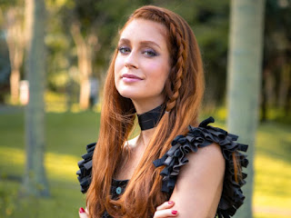 Marina Ruy Barbosa grava cenas de 'Bom Sucesso' como Eliza