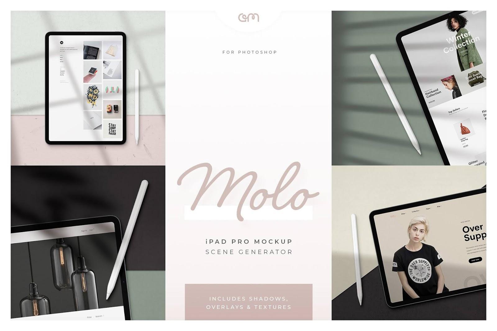 Molo iPad Pro Scene Creator