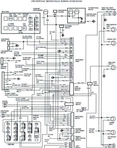 2002 pontiac 3 4 engine cooling diagram pontiac 2 4 engine electric diagram 1993 pontiac bonneville schematic wiring diagrams