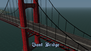 Pontes SF textura HD leve