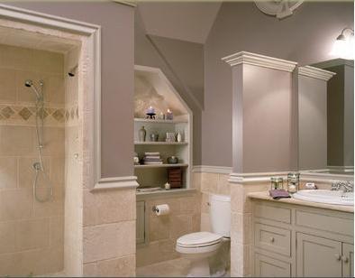 Ba os modernos decoraci n de ba os azulejos for Revestimientos para banos modernos