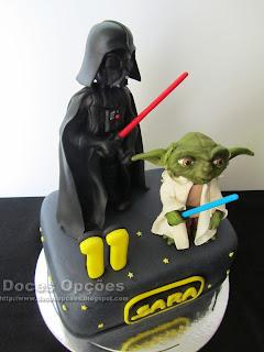 bolo star wars doces opções