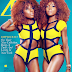 Newyork Based Fashion Models Dpipertwins Cover Zen Magazine March Issue