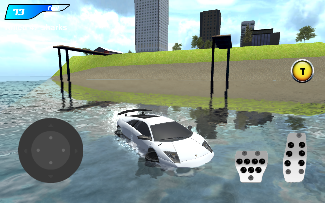 X Robot Car Shark Water MOD APK