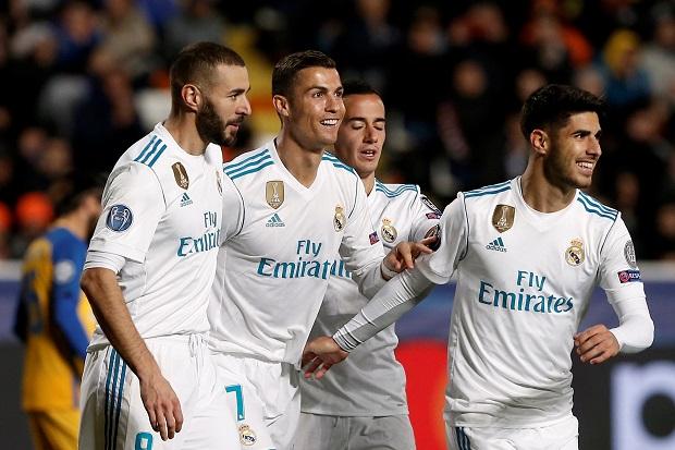 Drama Setengah Lusin Gol Antar Madrid ke Babak 16 Besar